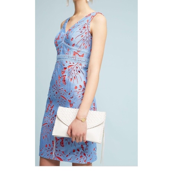 cd215fc39569 Anthropologie Dresses | Gardenia Lace Column Dress | Poshmark